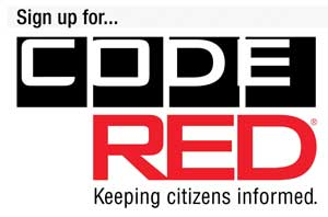 Sign up for Code Red - Keeping citizens informed.