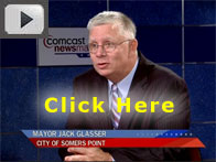 Click here for video of Somer's Point Mayor discussing new construction.